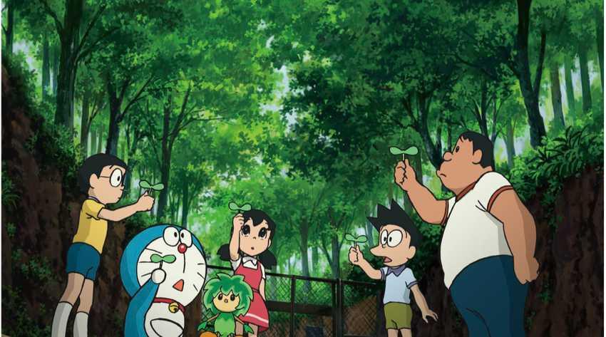 電影哆啦A夢:大雄與綠之巨人傳