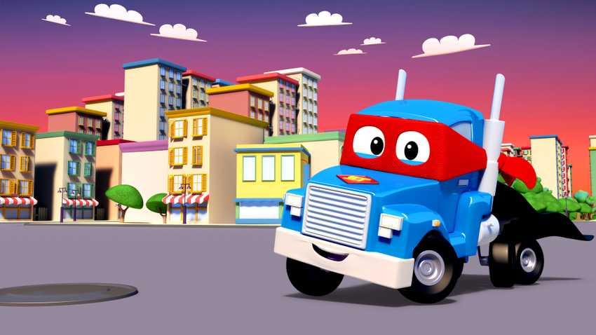 汽車城之超級變形卡車
