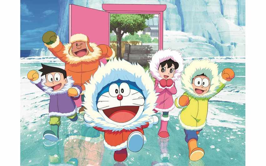 哆啦A夢:大雄的南極冰天雪地大冒險(國語版)