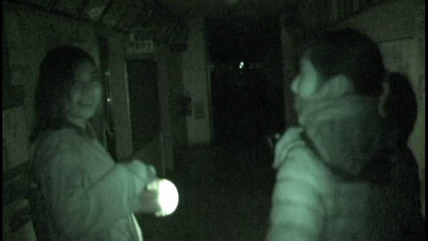 錄到鬼之靈異錄像